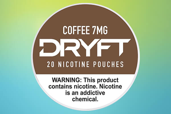 Dryft Coffee 7mg Nicotine Pouches