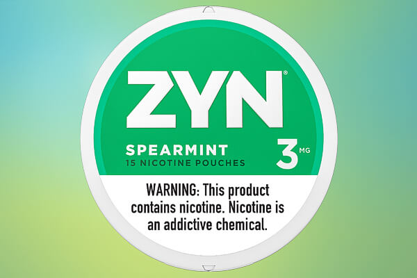 ZYN Spearmint 03 Nicotine Pouches