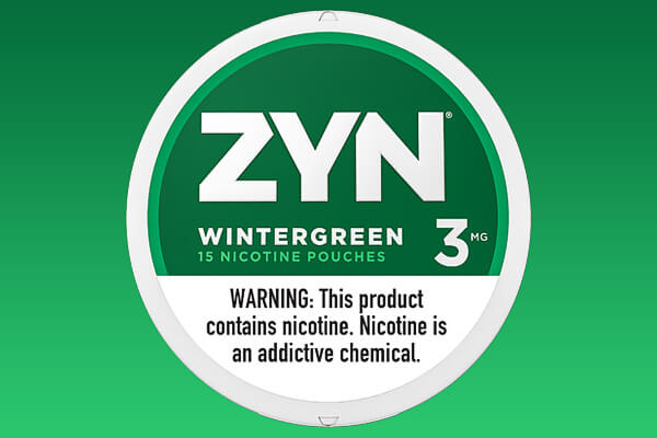 ZYN Wintergreen 03 Nicotine Pouches