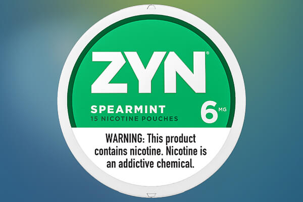 ZYN Spearmint 06 Nicotine Pouches