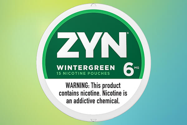 ZYN Wintergreen 06 Nicotine Pouches
