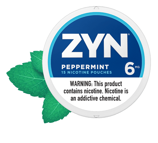 ZYN Peppermint 06 Nicotine Pouches