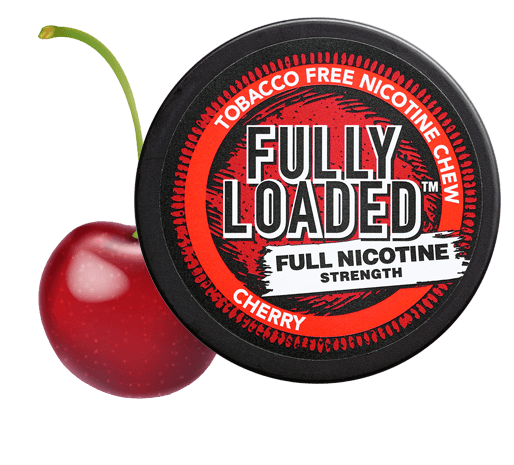 Fully Loaded Cherry Full Nicotine Strenght Tobacco-free Chew