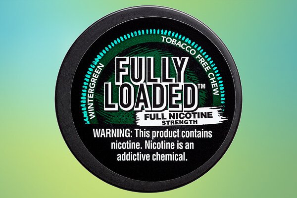 Fully Loaded Wintergreen Full Nicotine Strength Tobacco-free Chew