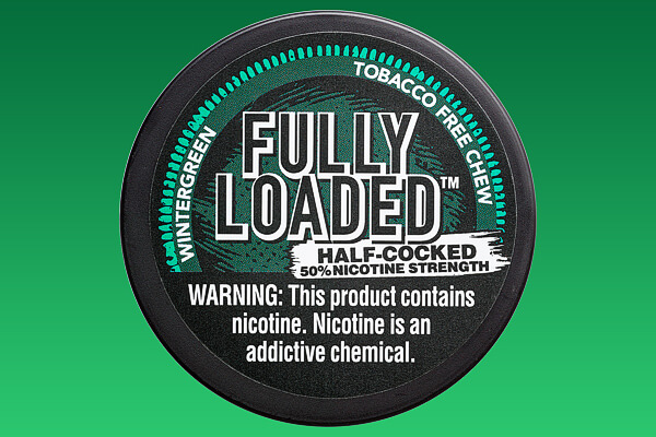 Fully Loaded Wintergreen Half Cooked Tobacco-free Chew