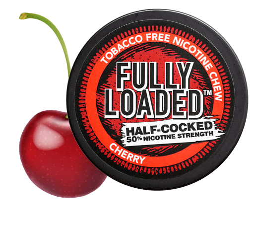 Fully Loaded Cherry Half Cooked Tobacco-free Chew