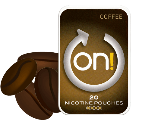 On! Coffee 4mg Nicotine Pouches