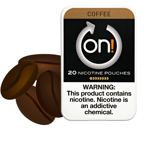 On! Coffee 8mg Nicotine Pouches