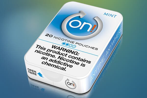 on! Mint 2mg nicotine pouches