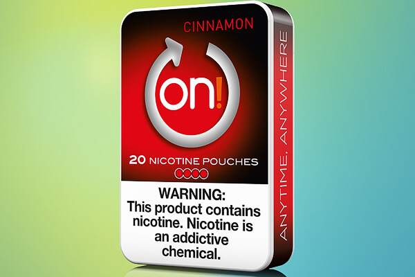 On! Cinnamon 4mg Nicotine Pouches