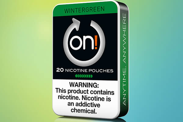 On! Wintergreen 8mg Nicotine Pouches